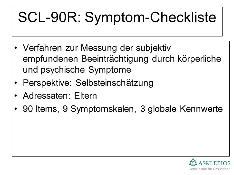 SCL-90R: Symptom-Checkliste