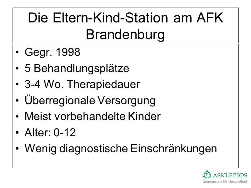 Die Eltern-Kind-Station am AFK Brandenburg