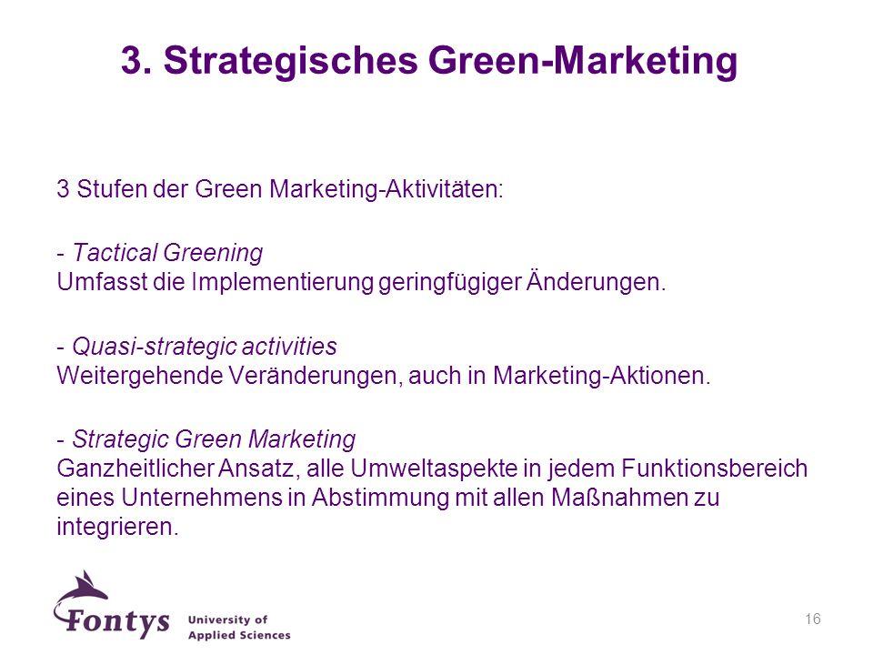 3. Strategisches Green-Marketing