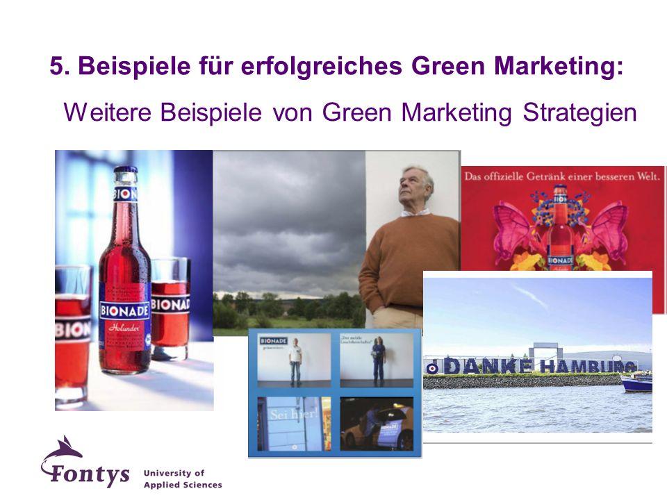 5. Beispiele für erfolgreiches Green Marketing: