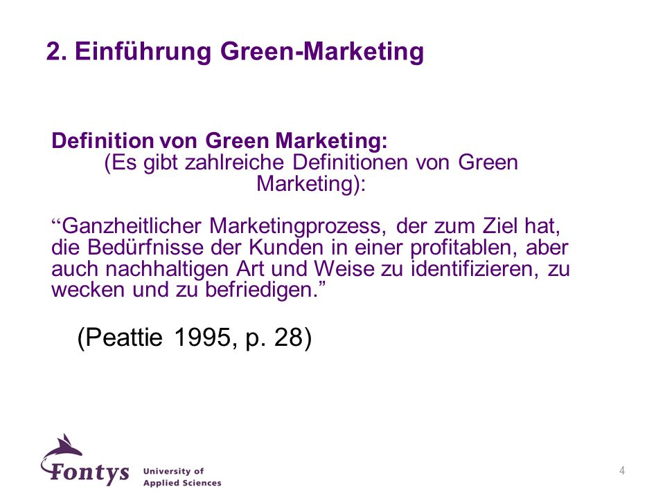 2. Einführung Green-Marketing
