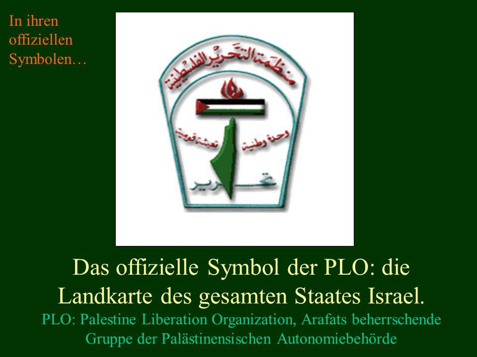 In ihren offiziellen Symbolen…