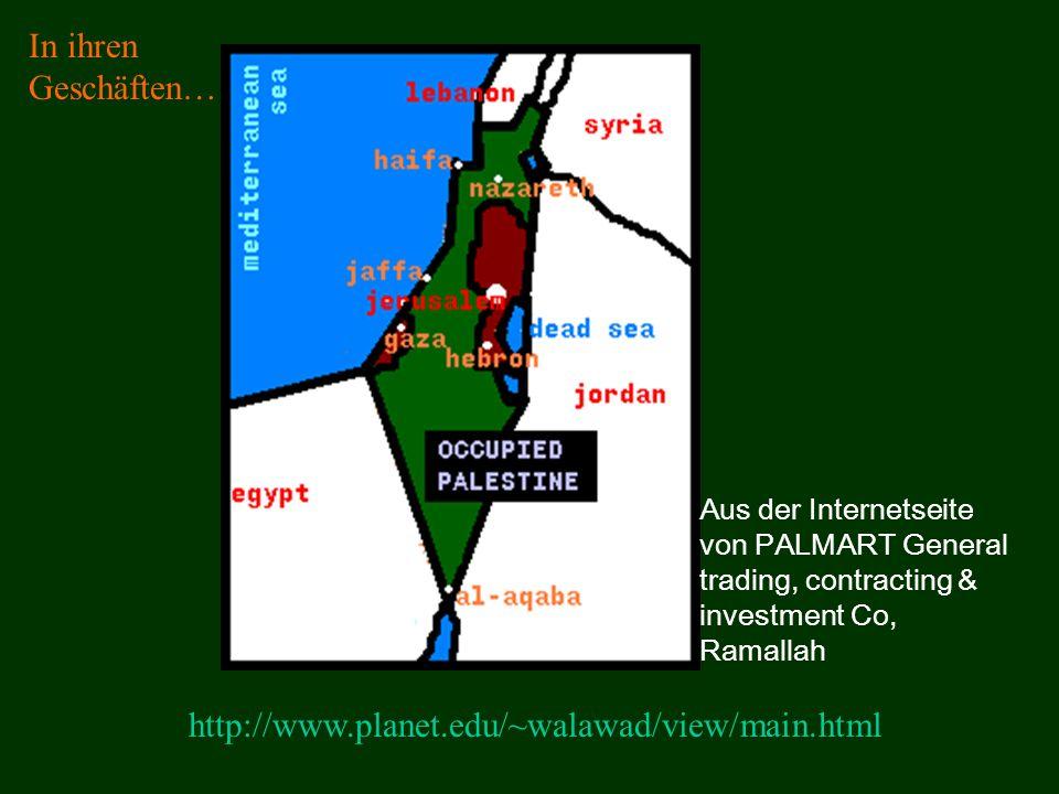 In ihren Geschäften… http://www.planet.edu/~walawad/view/main.html