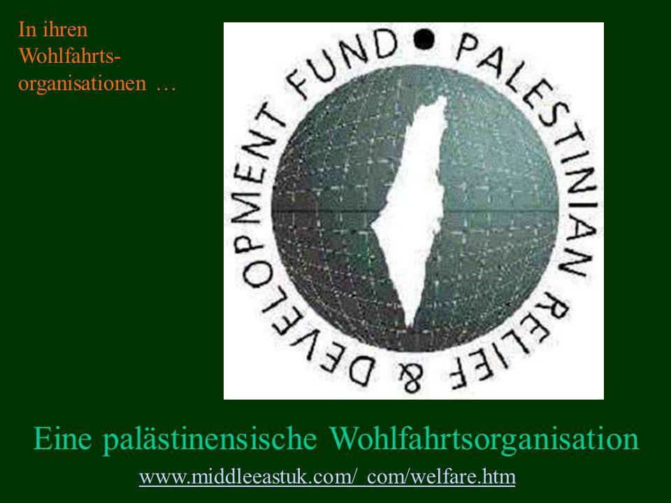 Eine palästinensische Wohlfahrtsorganisation