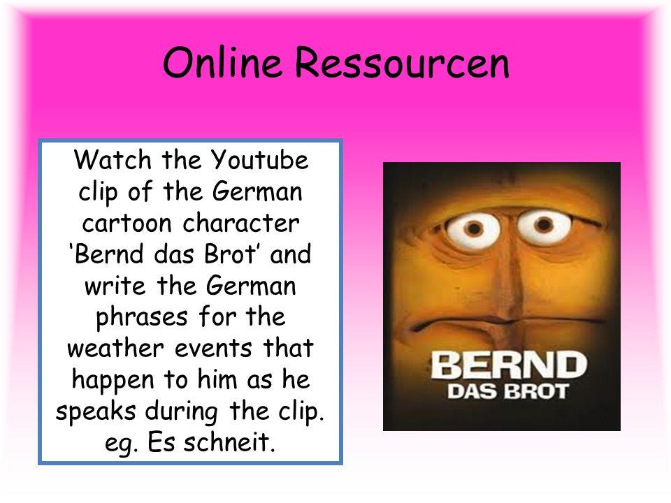 Online Ressourcen