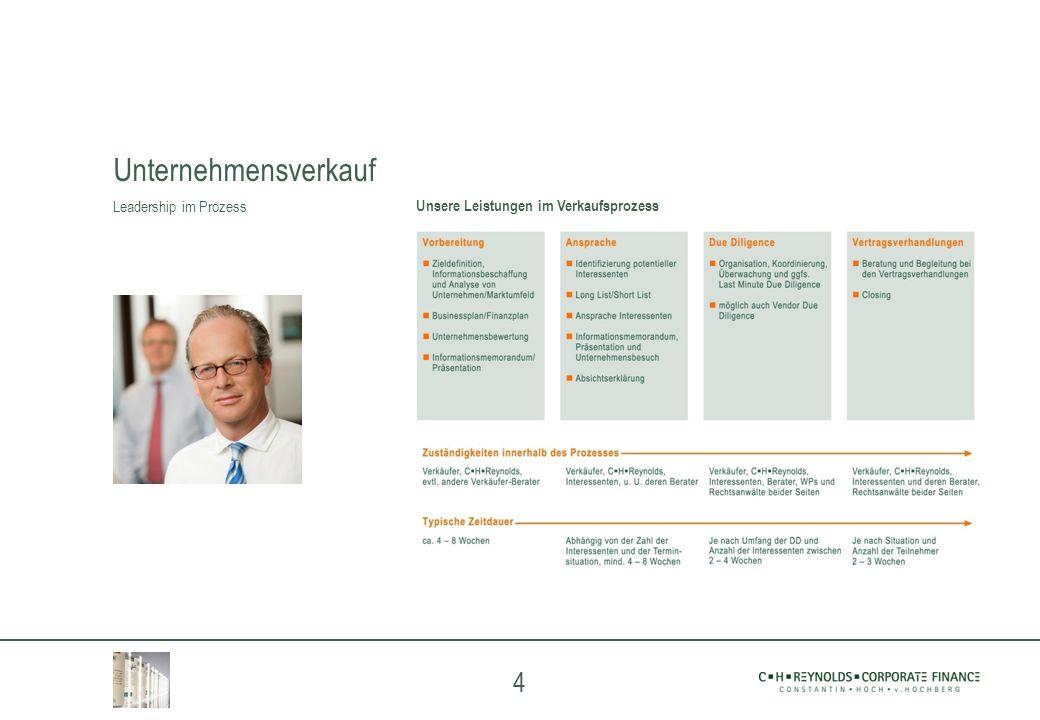 Unternehmensverkauf Leadership im Prozess