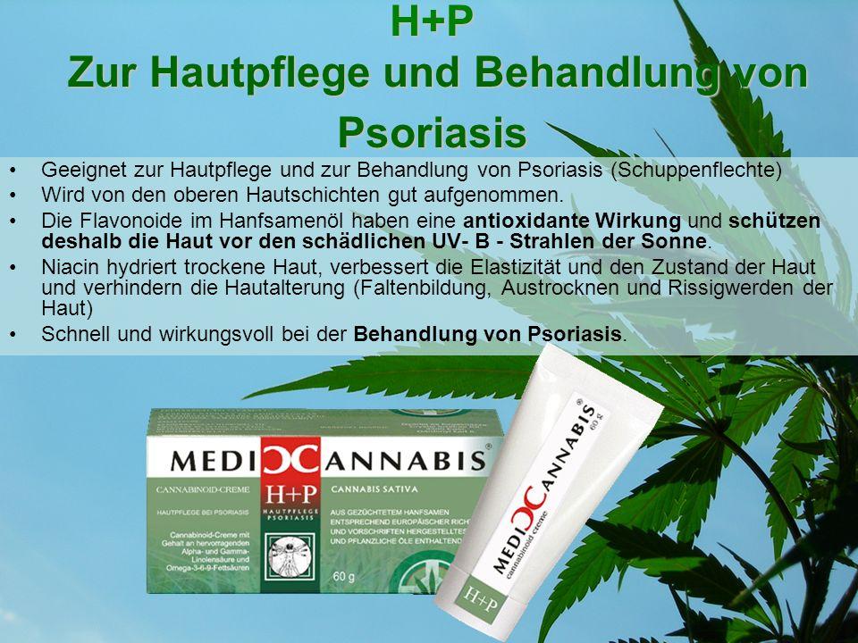 H+P Zur Hautpflege und Behandlung von Psoriasis