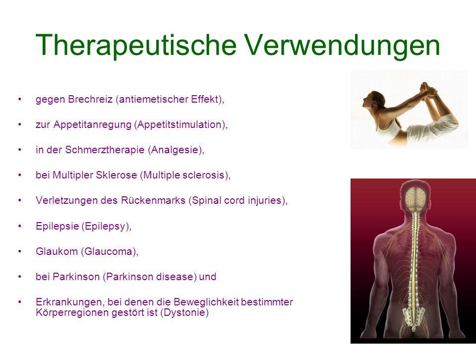 Therapeutische Verwendungen
