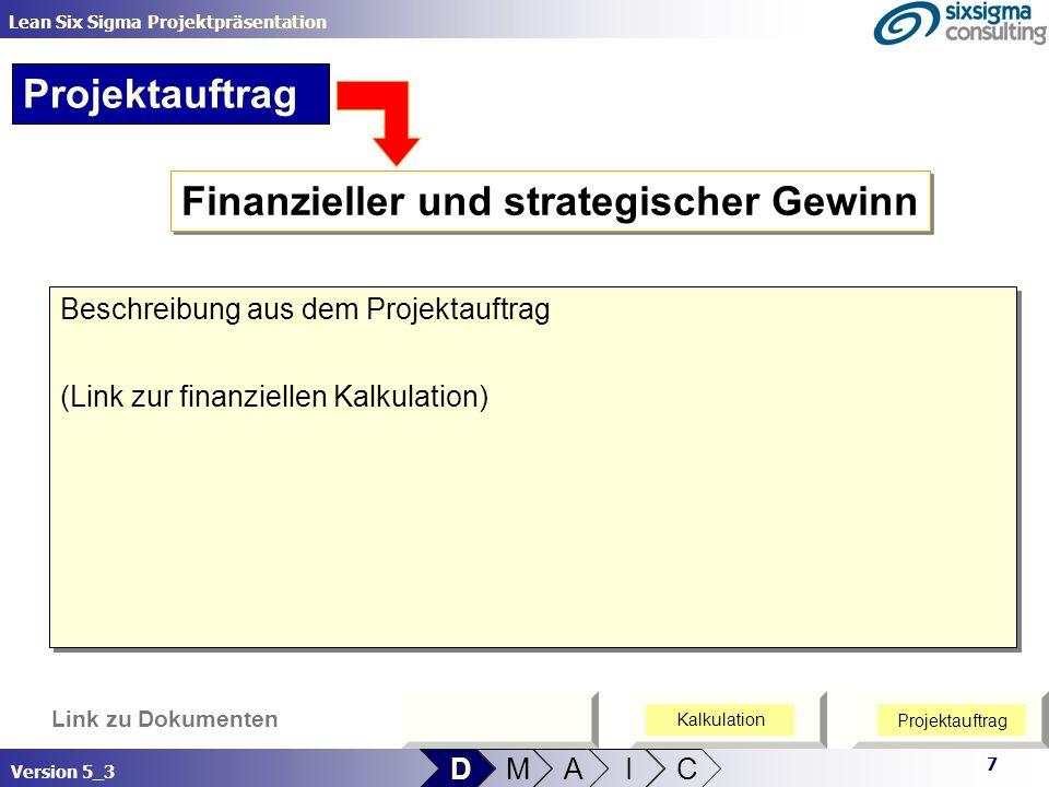 Finanzieller und strategischer Gewinn