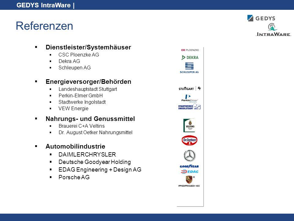 Referenzen Dienstleister/Systemhäuser Energieversorger/Behörden