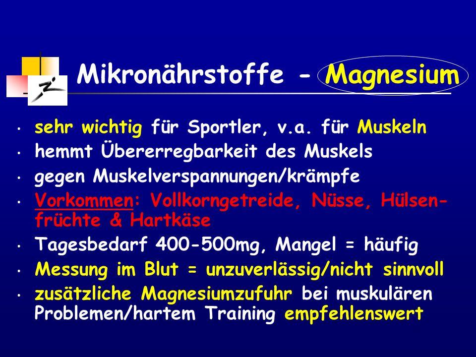 Mikronährstoffe - Magnesium