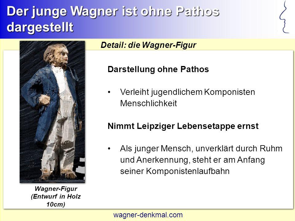 Wagner-Figur (Entwurf in Holz 10cm)