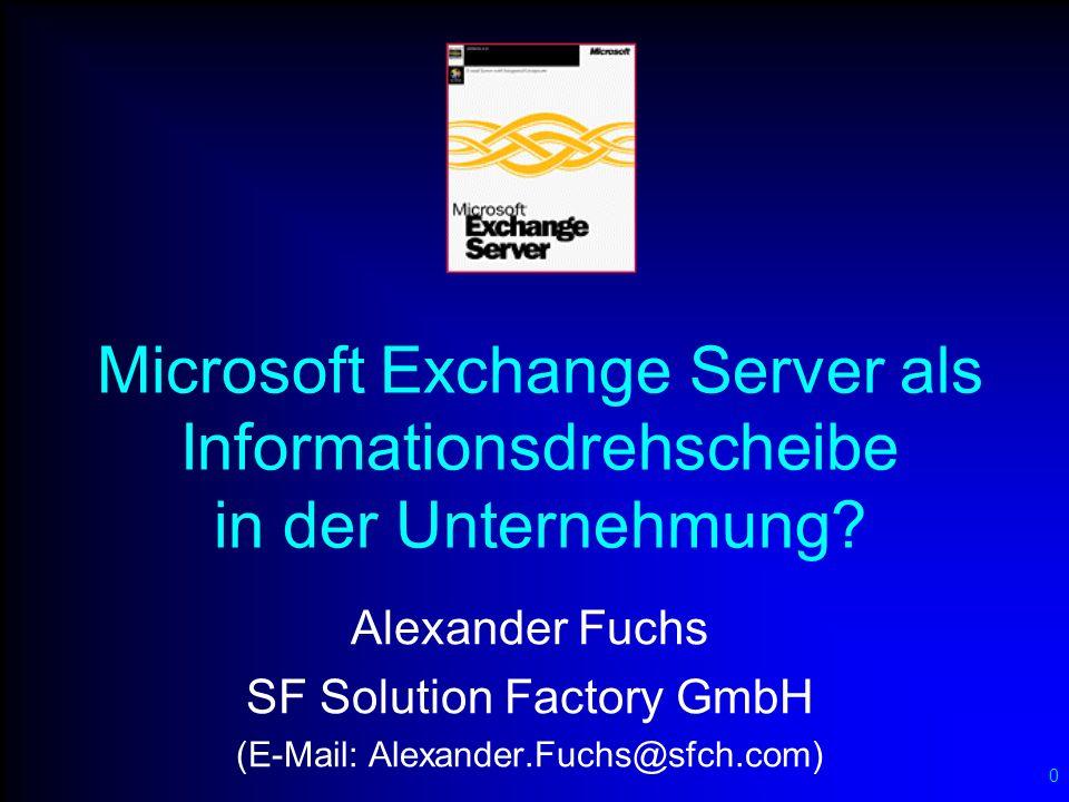 Profil Alexander Fuchs