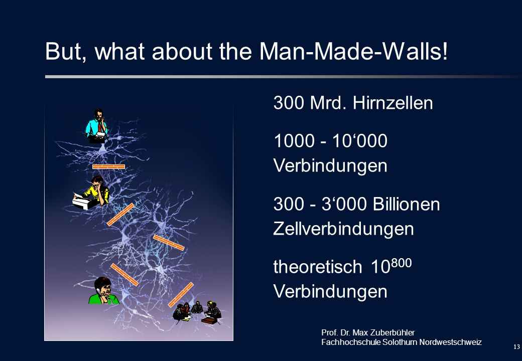 But, what about the Man-Made-Walls!