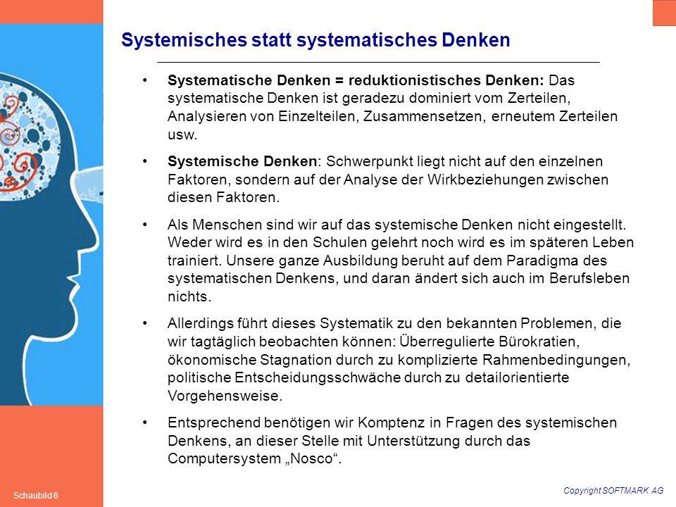 Systemisches statt systematisches Denken
