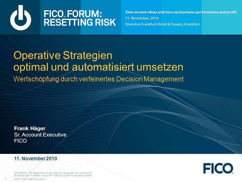 Operative Strategien optimal und automatisiert umsetzen