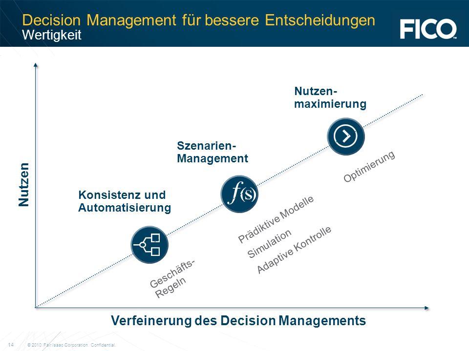 Decision Management für bessere Entscheidungen Wertigkeit