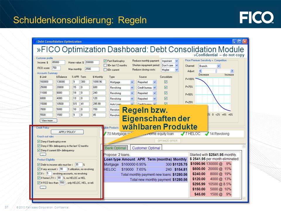 Schuldenkonsolidierung: Regeln