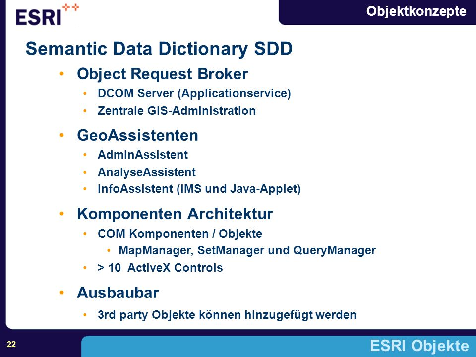 Semantic Data Dictionary SDD