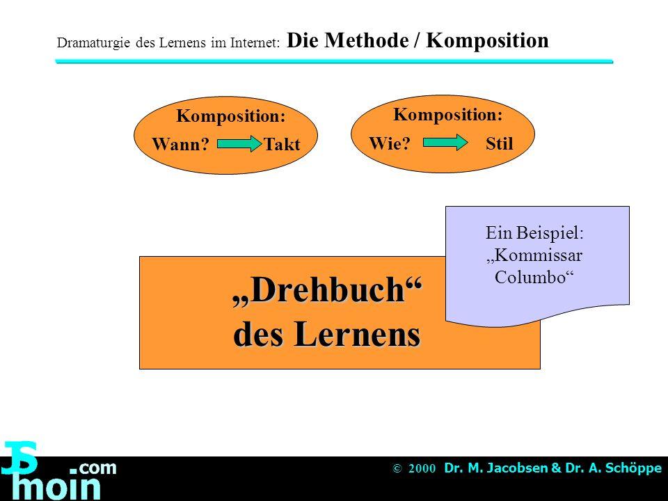 """""""Drehbuch des Lernens"""