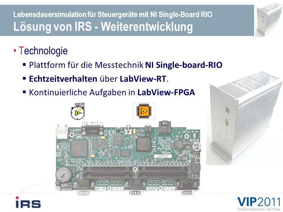 Technologie Plattform für die Messtechnik NI Single-board-RIO