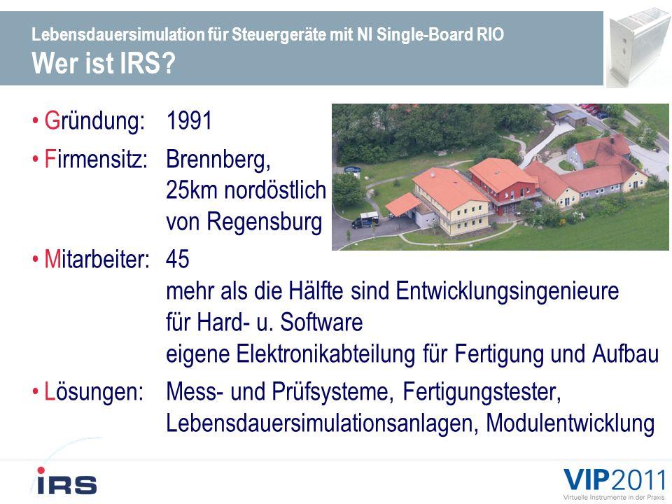 Firmensitz: Brennberg, 25km nordöstlich von Regensburg