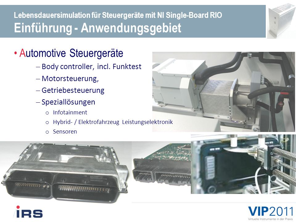 Automotive Steuergeräte