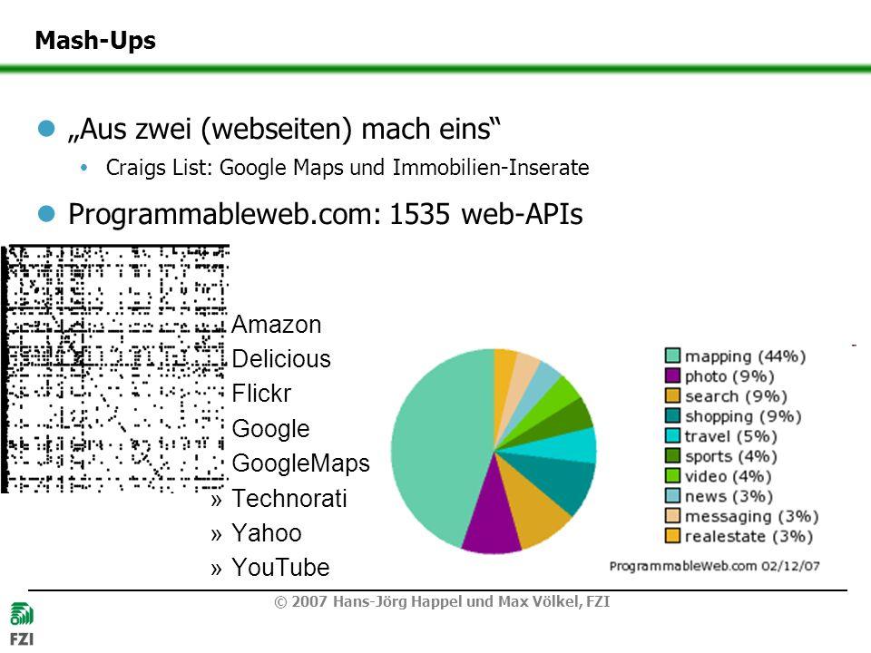 """Aus zwei (webseiten) mach eins Programmableweb.com: 1535 web-APIs"