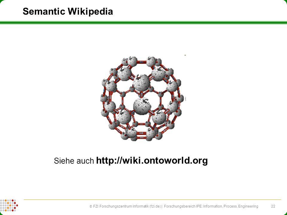 Siehe auch http://wiki.ontoworld.org