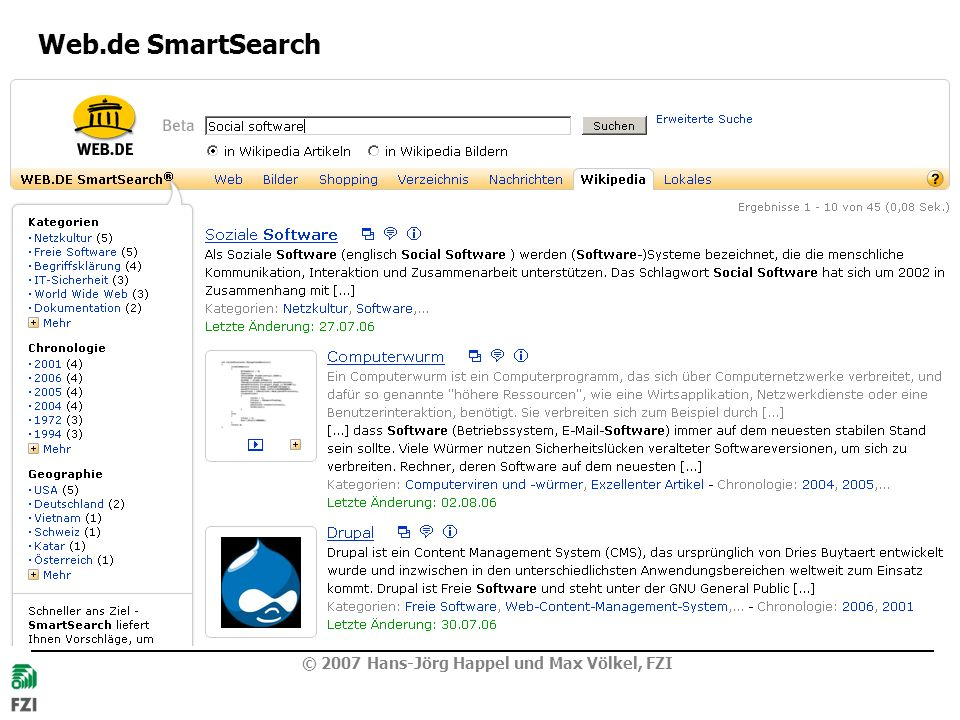 Web.de SmartSearch