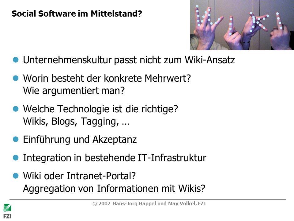 Social Software im Mittelstand