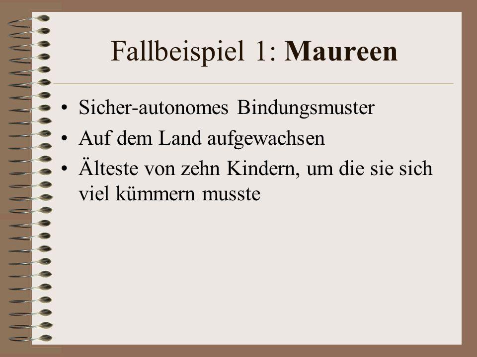 Fallbeispiel 1: Maureen