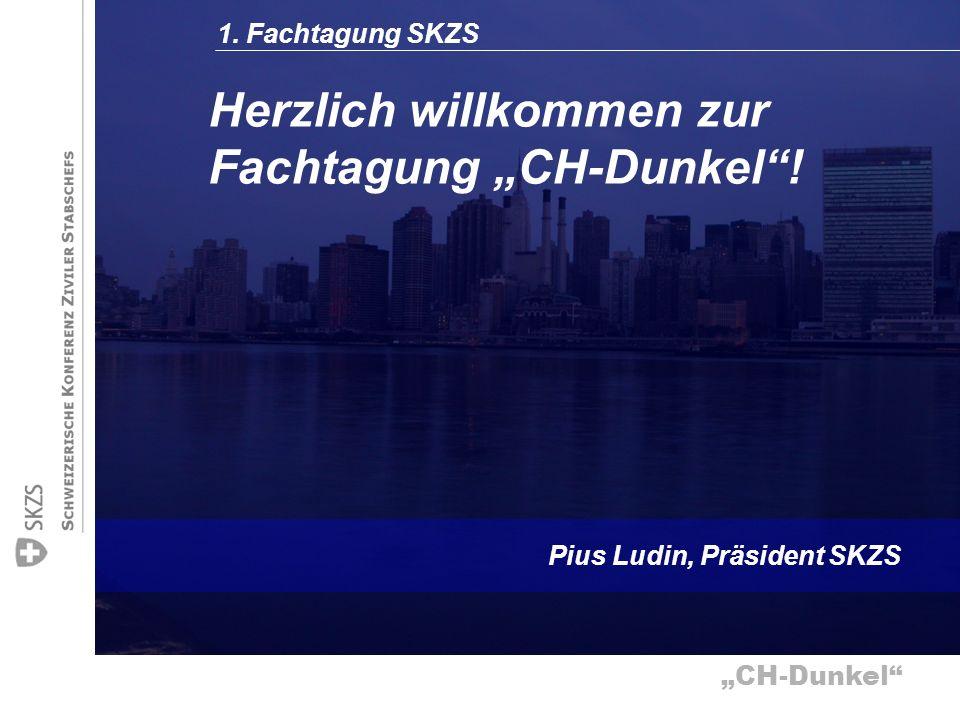 """Herzlich willkommen zur Fachtagung """"CH-Dunkel !"""