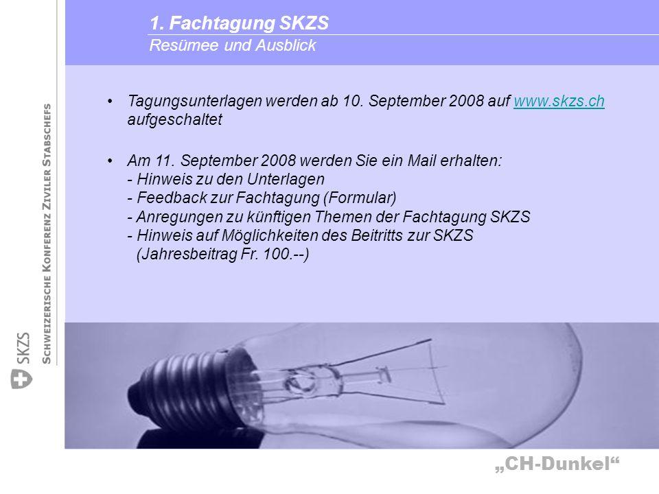 1. Fachtagung SKZS Resümee und Ausblick