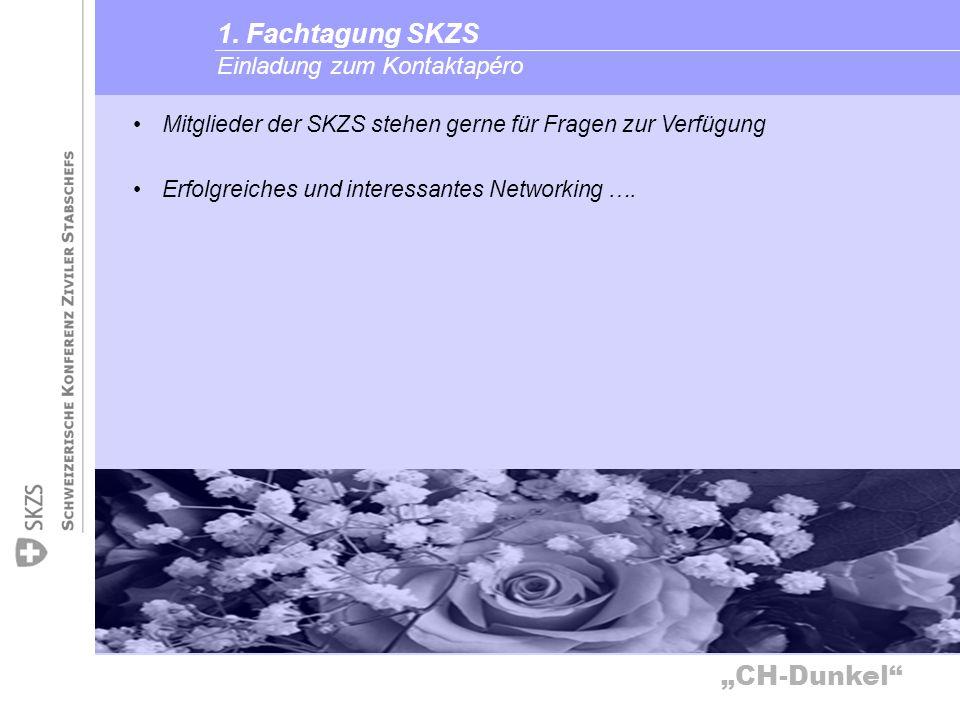 1. Fachtagung SKZS Einladung zum Kontaktapéro