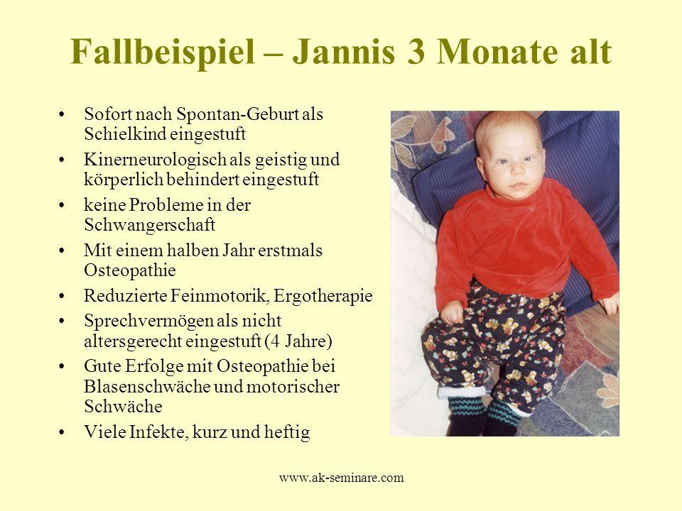Fallbeispiel – Jannis 3 Monate alt