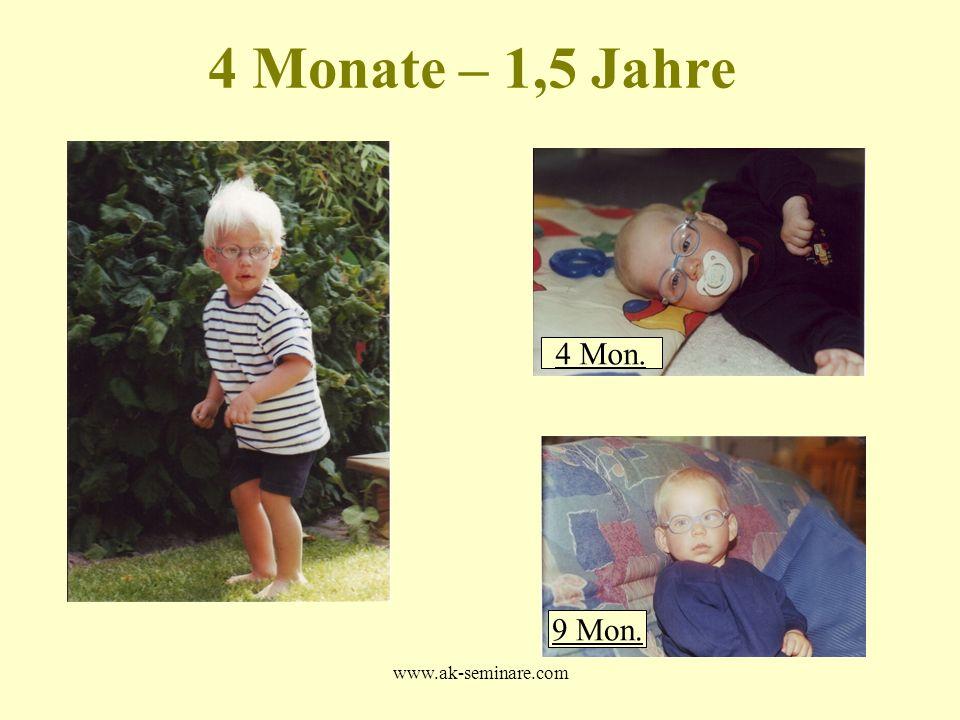 4 Monate – 1,5 Jahre 4 Mon. 9 Mon. www.ak-seminare.com