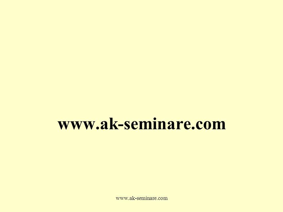 www.ak-seminare.com www.ak-seminare.com