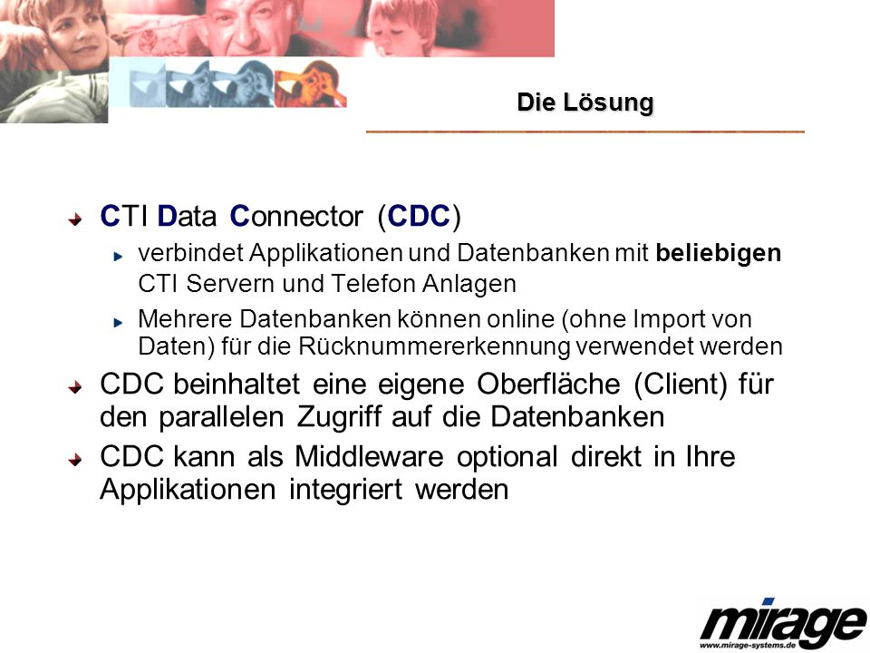 CTI Data Connector (CDC)