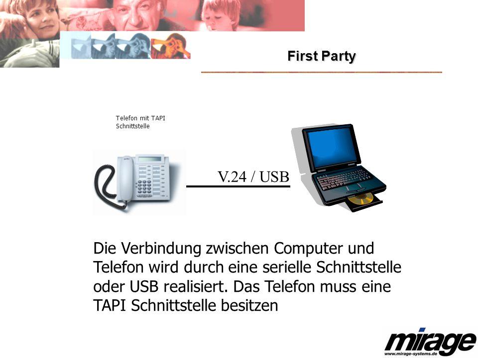 Die Verbindung zwischen Computer und