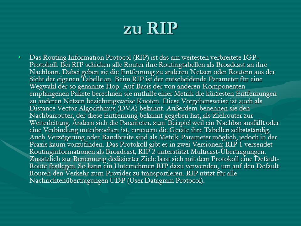 zu RIP