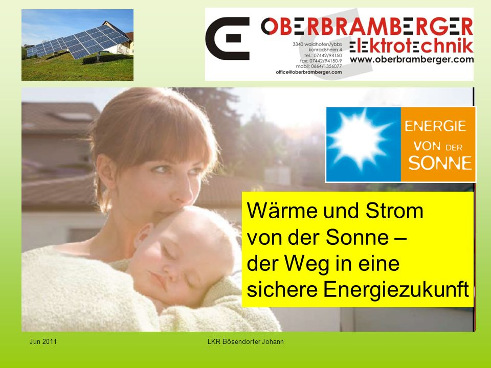 Wärme und Strom von der Sonne – der Weg in eine sichere Energiezukunft