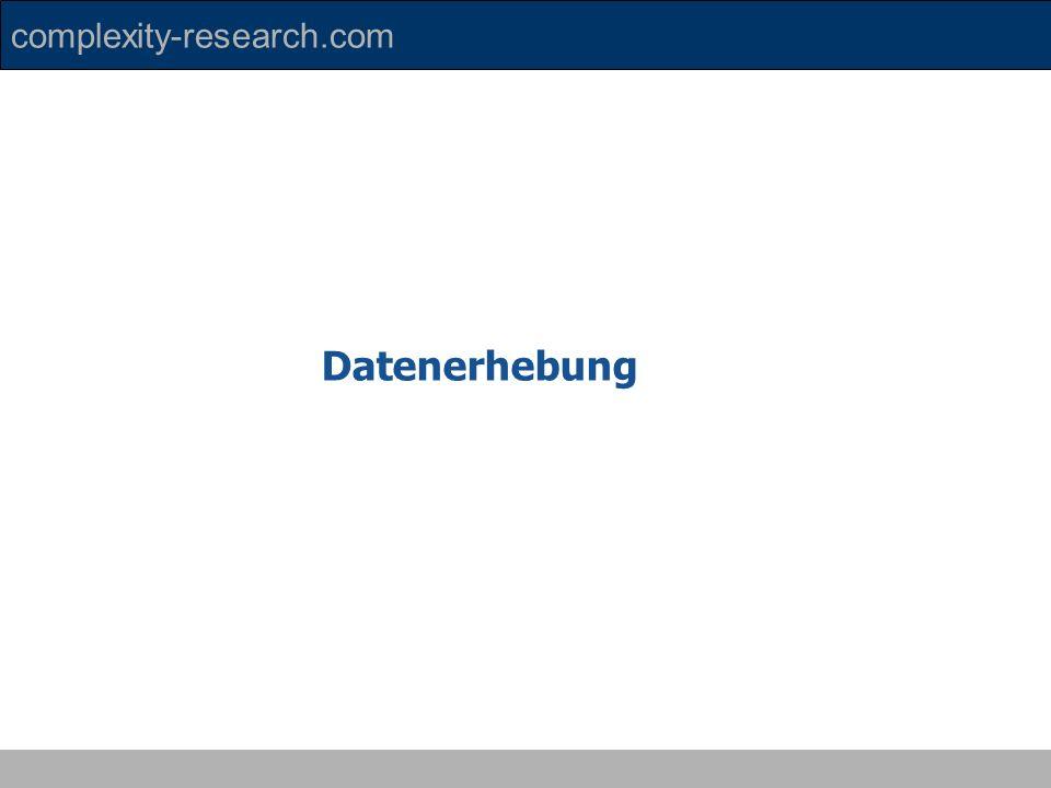 Datenerhebung