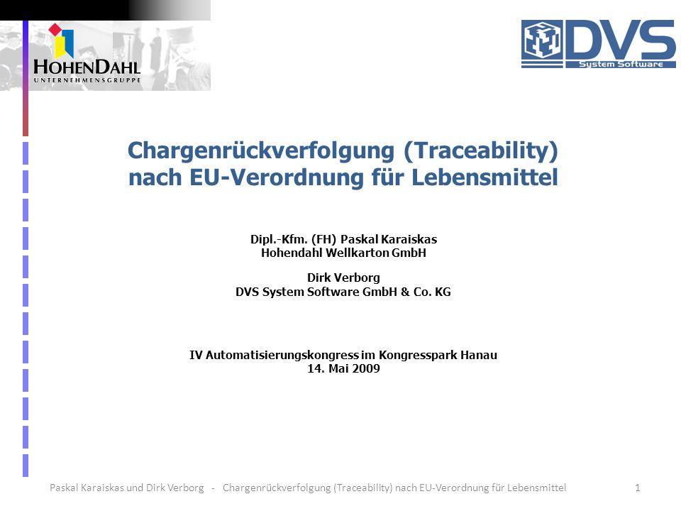 Dipl.-Kfm. (FH) Paskal Karaiskas Hohendahl Wellkarton GmbH