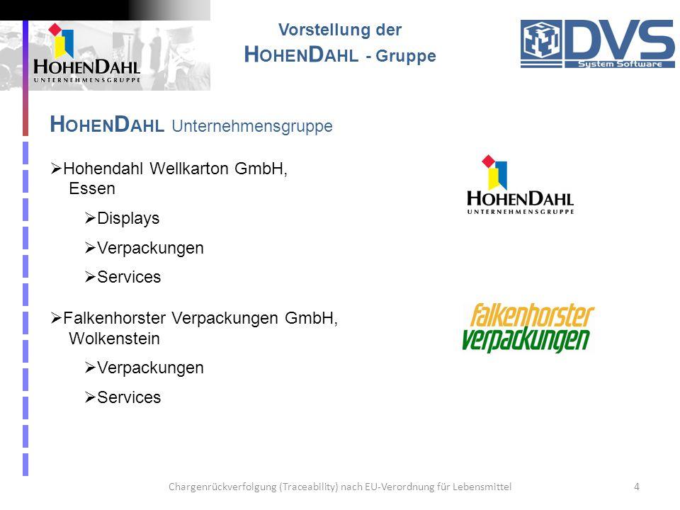 HOHENDAHL Unternehmensgruppe