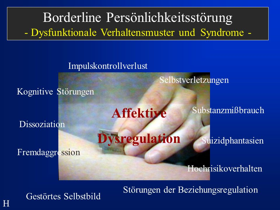 Affektive Dysregulation