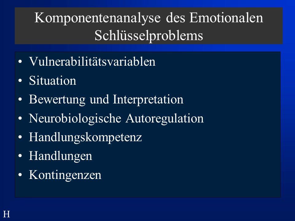 Komponentenanalyse des Emotionalen Schlüsselproblems
