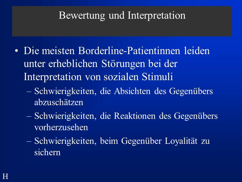Bewertung und Interpretation