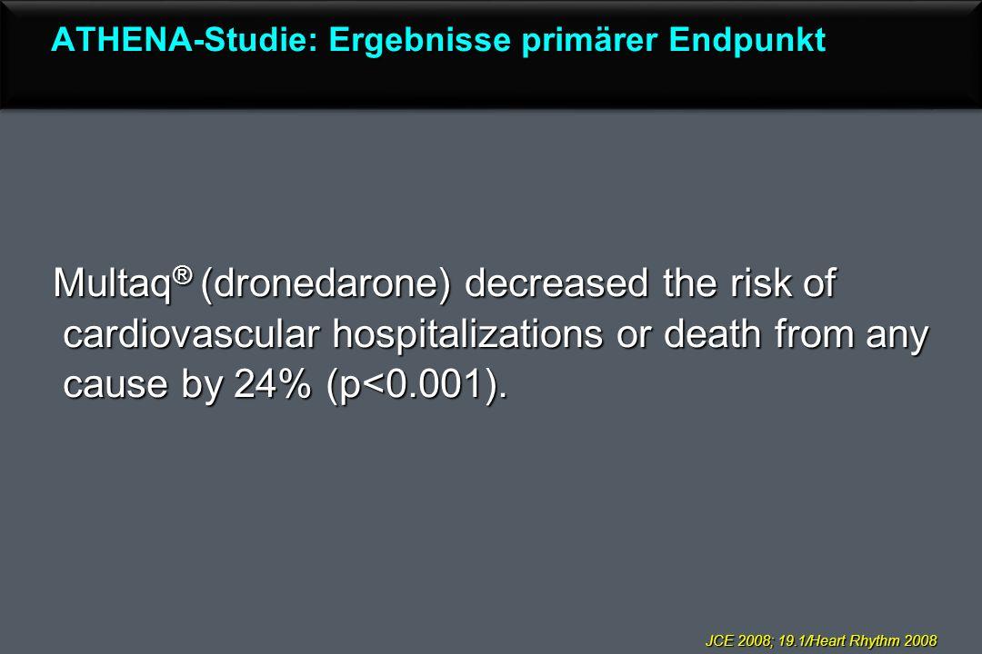 ATHENA-Studie: Ergebnisse primärer Endpunkt