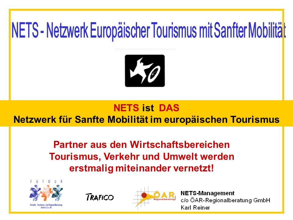 NETS ist DAS Netzwerk für Sanfte Mobilität im europäischen Tourismus